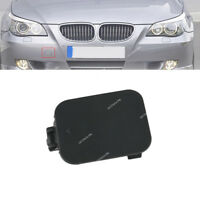 Front Bumper Tow Hook Eye Cover Cap Unpainted For BMW E60 528i 535i 550i
