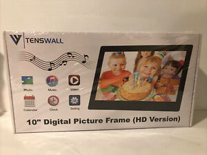 "Tenswall 10""  Digital Picture Photo Frame HD Version"