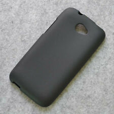 New Black TPU matte Gel skin case cover for HTC Desire 601 Zara