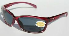 COSTA DEL MAR Manta POLARIZED Sunglasses Orchid Purple/Gray 580P NEW