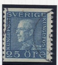 Sweden 1921-38 Early Issue Fine Used 25ore. 026734