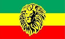 Bandera Rastafari imagen Leon de Judah GRANDE 150 Cm 1,5 Metros