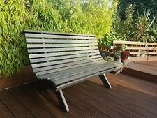 GARDEN BENCH 3 SEATER WOODEN OUTDOOR PARK SEATING WOOD FURNITURE SEAT