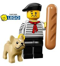 Lego Minifigures 71018 Series 17 - #9 French Man Sealed Minifigures