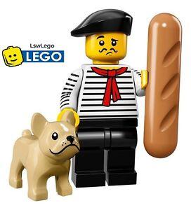 Lego Minifigures 71018 Series 17 - #9 French Man Sealed Minifigures
