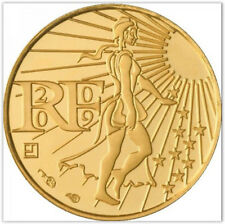 Pièce De Monnaie 100 EUR, Vème République, 100 Euros or (sous Blister)