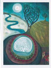 PAGAN WICCAN GREETING CARD This Magic Land BIRTHDAY, Blank CELTIC, JAINE ROSE