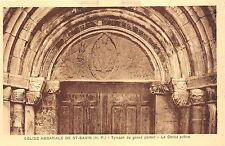 BR29852 Eglise abbatia;e de St Savin tympan du grand portal france