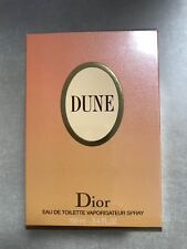 DUNE Dior 100ml EDT. DISCONTINUED VINTAGE