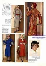 Schunard 30er Ans XL page 1931 mode robe chapeau défilé de mode