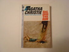 Evil Under the Sun, Agatha Christie, Hercule Poirot, 45c Paperback, 1963