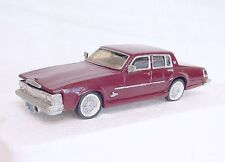 HV II Models 1/43 CADILLAC SEVILLE 1976 White Metal Kit Car Handbuilt NM`75 RARE