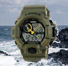 Reloj Digital Pulsera Hombre Militar Deportivo Correa Verde Watch Men
