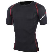 Reebok Men's Compression Short Sleeve Shirt Mens T-Shirts Short Sleeves XL