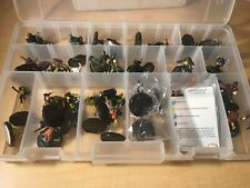 Marvel Heroclix 32 Figures FANTASTIC FORCES with Cards Beast Nightcrawler MFT4