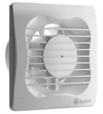 "Xpelair Extractor Fan with Timer VX100T 4"" 100mm Bathroom Ventilation - White"
