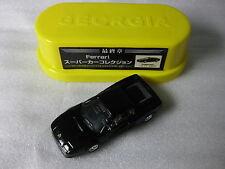 Ferrari F40 1987 Black Mattel 1:72 Scale Diecast Model Car Lawson