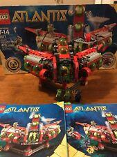 LEGO Atlantis Exploration HQ Submarine Scuba 8077 Retired