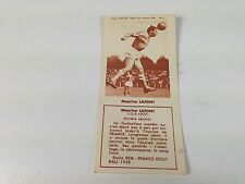 FOOTBALL BISCUITS REM REIMS MAURICE LAFONT 50s NO PANINI