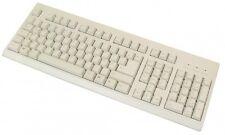 usb 104 tasten standard tastatur kabel typ a-stecker inkl. 3 hot keys grau beige