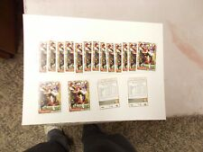 1992 TOPPS FOOTBALL LOT OF 18 CARDS ALL #191 STEVE YOUNG UNPICKED