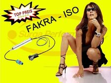 FAKRA iso antenas adaptador audi FORD SEAT SKODA VW antena adaptador de enchufe NUEVO