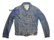 Abercrombie & Fitch Keene Valley Destroyed Denim Jacket L $200