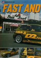 Q21 Clipping-Ritaglio 2002 Honda Civic Sir - Fast and Furious