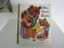 A Little Golden Book The Three Bears Hardcover Children's Fairy Tales