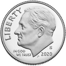 2020 S Clad Proof Roosevelt Dime Gem Deep Cameo coin