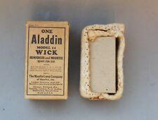 Aladdin Model II Wick Antique Vintage NIB 1930's Mantle Lamp Kerosene Coal Oil