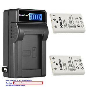Kastar Battery LCD Wall Charger for Nikon EN-EL5 MH61 Nikon Coolpix P5100 Camera