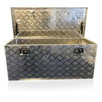 463 US PRO TOOLS Aluminium Chequer Plate Van Trailer Tool Box Chest PickUp L200