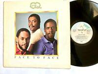 CQ – Face To Face 1981 Soul Disco Vinyl LP Album (Shake) – SPART 1163 / VG/VG