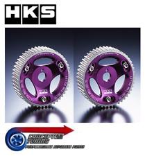 HKS Adjustable Vernier Slide Cam Pulley Pair - For JZS161 Aristo 2JZ-GTE