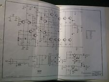 Peavey 400R Amp Schematic Sheet 400 R