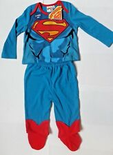 Boys SUPERMAN/BABY Pyjamas/PJ's ~Boys Baby Sleep Set~6-9 months ~ BNWT DC Comics