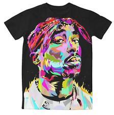 New Fashion Womens/Mens 2Pac Tupac Funny 3D Print Casusal T-Shirt UK1169