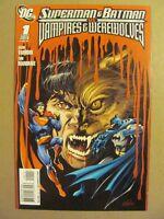 Superman & Batman vs Vampires & Werewolves #1 DC Comics 2009 Series 9.6 NM+
