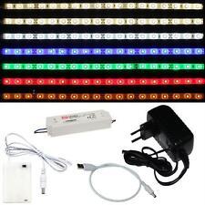 LED Streifen Strip 5V 12V 24V / IP20 IP65/ 60LED/m 120LED/m USB Kabel Netzteil