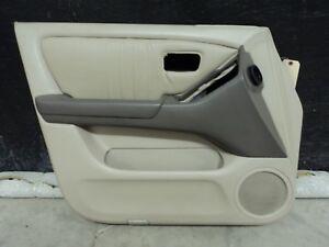 1999-2003 Lexus RX300 Drivers front Door Panel tan