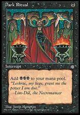 Ice Age  #120 ENGLISH MTG ▼▲▼ Dark Ritual Messe noire