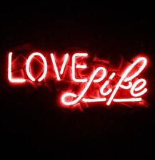 New Love Life Bar Neon Light Sign Lamp Beer Pub Acrylic 14""