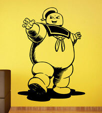 Ghostbusters Wall Decal Stay Puft Man Vinyl Sticker Home Mural Custom Decor 6