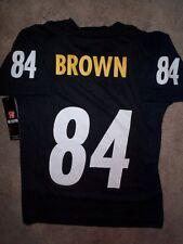 *IRREGULAR* Pittsburgh Steelers ANTONIO BROWN nfl Jersey Youth Kids Boys s-small
