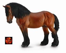 Toys & Hobbies Papo Comtois Horse Toy-figures Action Figures 51555 14cm Pferdewelt Novelty 2017 Soft And Light