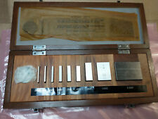Mitutoyo Gage Block Set Be1 9 2 Grade 2 0625 2 Fast Shipping