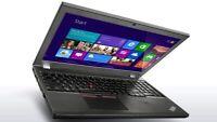 "Lenovo ThinkPad T550 15.6"" Ultrabook Laptop Intel i5 2.30GHz, 4GB 500GB W10PRO"