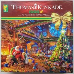 SANTA'S WORKSHOP  by Thomas Kinkade - Ceaco CHRISTMAS 1000 piece puzzle - NEW