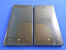 GOOD LOT OF 2 NOKIA 928 LUMIA FOR VERIZON + GSM FACTORY UNLOCKED WINDOWS 32GB